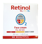 Mincer Retinol Q10 + C + O2 Face Cream, Day & Night - 50ml