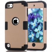 iPod Touch 6 Case,XRPow iPod 5/6 Colourful Series Heavy Duty High Impact Armour Case Cover Protective Cover Case for Apple iPod touch 5 6th Generation