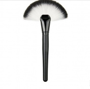 Tmalltide 1 Pcs Pro Soft Perfecting Face Cheek Foundation Brushes Blend Flat Big Fan Makeup Tool