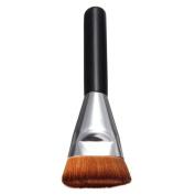 Tmalltide 1PCS Women Girls Flat Contour Brush Big Face Cheeks Blend Makeup Brush
