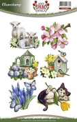 Find It Trading ADCS10003 Amy Design Clear Stamp, Spring