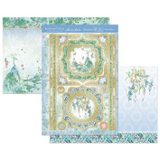 Hunkydory Eastern Treasures Fanciful Feathers TREASURE904 Topper Card Kit