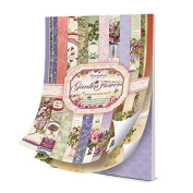 Hunkydory Garden Flowers of Brittain A4 Specialty Paper Pad 48 150gsm Sheets