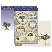 Hunkydory Garden Flowers Bluebell & Elderflower Topper Set Card Kit GFOB902