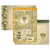 Hunkydory Garden Flowers Daisy & Viburnum Topper Set Card Kit GFOB903