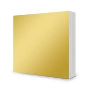 Hunkydory Mirri Matts 100 Mirri Sheets in Rich Gold 15cm x 15cm Mirror Board MCDM103