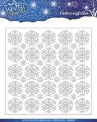 Find It Trading PMEMB10006 Winter Wonderland Precious Marieke Embossing Folder, Clear