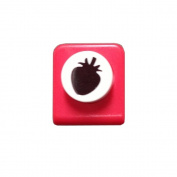 Carl Craft Mini Craft Paper Punch, Strawberry