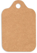 Burlap Kraft Wedding Birthday Large Gift Tags 5.1cm - 0.6cm x 8.9cm - 50pack