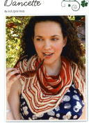 Irish Girlie Knits Knitting Pattern - Dancette Shawl