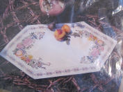Something Special Floral & Fruit Table Runner 70cm x 36cm Counted Cross Stitch Kit