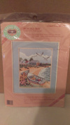 "From the Heart Stamped Cross Stitch ""Seagull Bay"""