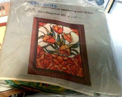 Stained Glass Tulips - The Accents A Collection of Brights & Naturals - Needlepoint Kit #2055