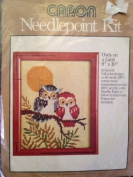 Owls on a Limb - Caron Needlepoint Kit #4588