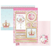 Hunkydory Crafts OCCASION902 Queen For The Day Occasion A4 Topper Set