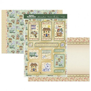 Hunkydory Crafts CELEB910 Home Sweet Home Celebrations A4 Topper Set