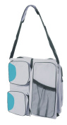 Baby Comfort Plus Convertible Bassinet Travel Nappy Bag, Grey