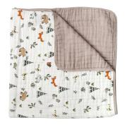 Little Unicorn Cotton Muslin Quilt Blanket - Forest Friends