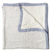 Little Unicorn Deluxe Muslin Quilt Blanket - Polka Dot