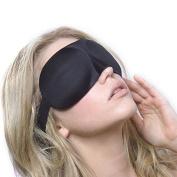 Xyindia(TM) Travel Rest 3D Sponge Eye MASK Black Sleeping Eye Mask Sleep Cover for health care to shield the light Gift H071