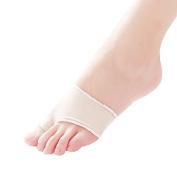 Buildent(TM)2 pcs hallux valgus correction corrector,silica gel protective case toe brace socks toe bunion toe protector, foot care