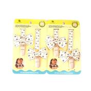 Mandydov Pack of 2pcs Baby's Adjustable Butterfly Bib Clip Handkerchief Napkin Clip Strap Stroller Cart, Saliva Towel, Blanket Holder Clip