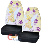 Tinkerbell Car Seat Cover Set Auto Accessories - Dream Land 2pc Front Seat