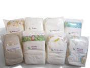 Nappy Decision Nappy Sampler--Disposable Nappy Variety Pack Eco Brands Mega Box