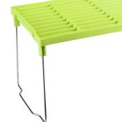 Krendel Blue Green Red Foldable Storage Shelf Rack Kitchen Bathroom Holder Organiser Desk Bookshelf