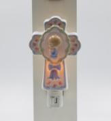 Cosmos Gifts 2164 Boy on Cross Plug In Night Light 12cm H