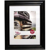 Better Homes and Gardens Distressed 11x14 Picture Frame, Black