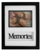 Memories Black & White Photo Frame