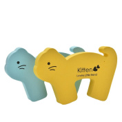 Velishy(TM) 2 x Baby Cartoon Thick Safety Door Stoppers Jammer Finger Protector