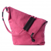 Women's Shoulder Bags Casual Button Crossbody Tote Bag Weekender Messenger Bags