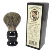 Barbero Badger Shaving Brush Black No.01