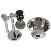 Barbero Shaving Kit with Shave Bowl