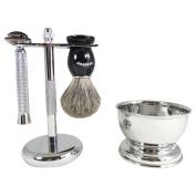 Barbero Shaving Kit with Soap Bowl