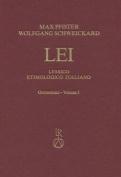 Lessico Etimologico Italiano, Germanismi Vol. I [ITA]