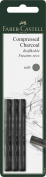 Faber-Castel FC129997 PITT Compressed Charcoal Sticks