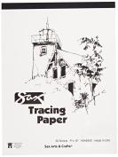 Sax Tracing Paper Pad - 23cm x 30cm - 50 Sheets per Pad - White