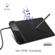 XP-Pen G430 OSU Tablet Ultrathin Graphic Tablet 10cm x 7.6cm Digital Tablet Drawing Pen Tablet for osu!