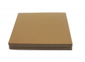 Brown Chipboard 100 Point Extra Thick 30cm x 30cm , .100 Calliper Heavy Cardboard 0.3cm Thick