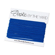 5 Yards of Royal Blue - 0.3cm Skinny Elastic - ElasticByTheYardTM