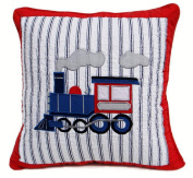 Jooyi® 1 Pc Nautical Square Decorative Cotton Cute Embroidery Pillowcase Cushion Cover for Sofa Boy and Girl`s Cover-throw Pillow Cover with a Belem for Children's Series 50cm x 50cm inch