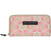 Petunia Pickle Bottom Wanderlust Wallet, Blooming Brixham Pink