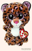 "New TY Beanie Boos Cute Patches the Leopard Plush Toys 6"" 15cm Ty Plush Animals Big Eyes Eyed Stuffed Animal Soft Toys for Kids Gifts"