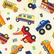 Preschool Nap Mat Sheet (Truck Stop