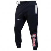 Farabi Fleece Bottom Trouser Jogging Sports Casual Pants Training Black