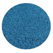 Bright Circus Blue - 0.9m ROUND Custom Carpet Area Rug