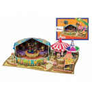 3D Puzzle -Exciting Circus & Pierrot